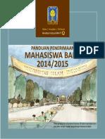 Buku Panduan Penerimaan Mahasiswa Baru TA 2014 2015 Revisi 06 2