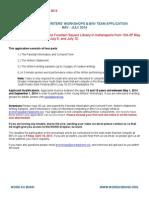 YWW Application 2014