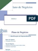 Plano de Negocios - Academia de Ginástica -Trabalho de Faculdade