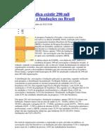 associações e fundações no Brasil