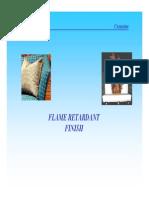 Flame Retardant Finish for Polyester