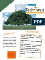 Techniwatt® Specification Sheet - English