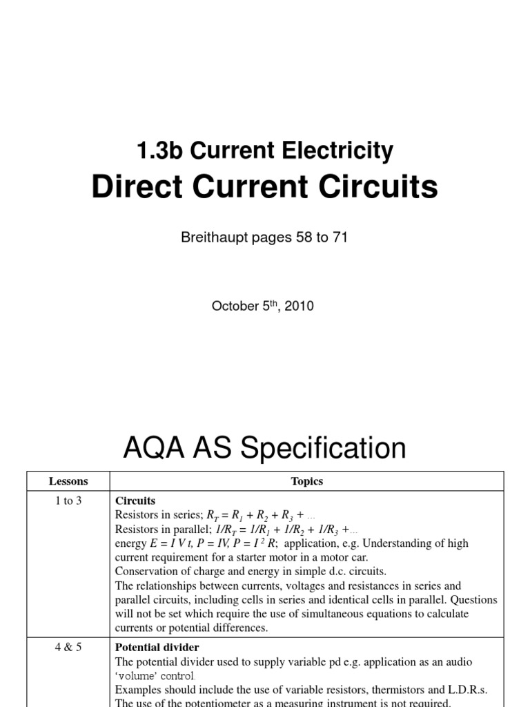 As 13b Directcurrentcircuits Series And Parallel Circuits Voltage Divider Circuit Calculator For Ldr Electric Current
