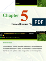 Ch 05-Human Resource Planning