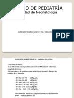 2.- Alimentacion e Hidratacion (Neonatologia)