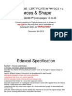 Igcse 12 Forces&Shape