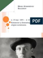Mihail Afanasievici Bulgakov