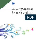 Bedienungsanleitung - Samsung Galaxy GT-S5363