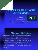 MIGRAINE(VASCULAR HEADACHE).ppt