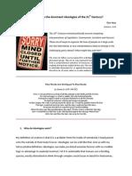 Ideology 21 Stcentury 2 PDF