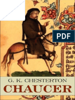 Chaucer Chesterton