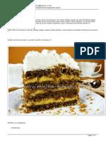 Minjina Kuhinjica-Žarbo torta