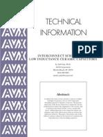 Caps IDC0612 Placement Intercs