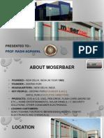 Moser Baer Supply Chain