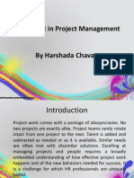 Role of HR in Project Management