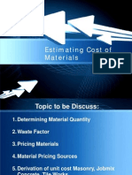 Module 2_Estimating Cost of Material_2