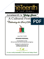 2012 Juneteenth Sponsorship Short