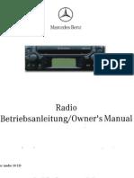 Mercedes Benz Audio 10 Owner's Manual