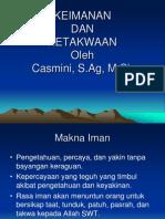 Iman Dan Taqwa