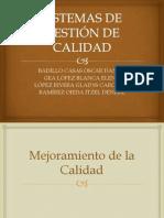 SISTEMAS DE GESTIÓN DE CALIDAD