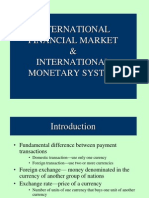 Forex and Monetary System