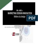 métiers du design