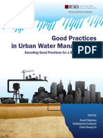 Good Practices Urban Water Management