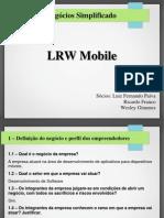 Plano de Negocio Simplificado LRW