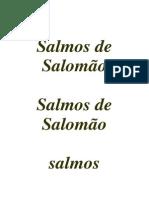 Salmos de Salomao22