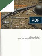 World War I Weapons Uniforms Source Book
