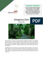 Gorgeous Gavi, Kerala, India
