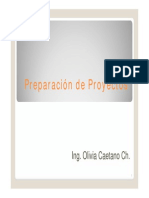 Clase 2 Preparaci+¦n de Proyectos - Proyecto