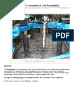 Electrical-Engineering-portal.com-Design of Overhead Transmission Line Foundation
