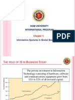 Chapter 1 Information Systems in Global Business Today