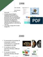Historia de La PC 1998 2010