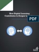 Digital Learning Deeper Learning Full White Paper