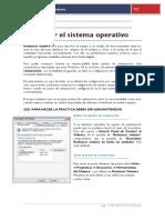 Restaurar El Sistema Operativo