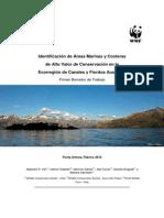 Identificación de áreas marinas y costeras de alto valor de conservación en la ecoregión de canales y fiordos australes
