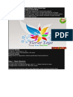 Corel Draw Tutorial Cara Membuat Vector Floral Logo