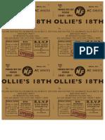 Ollie Invites