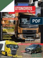 Autonomos en Ruta 184 Junio