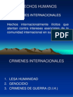 CRIMENES INTERNACIONALES