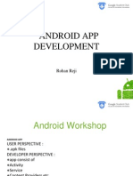 Android App Development - Introduction