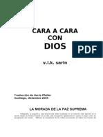 cara a cara con dios  (autor sarin)(castellano)