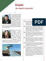 Economie/Emploi - Projet Osez l'avenir à Vitré avec Hervé UTARD