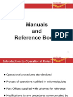 Rules and Manuals