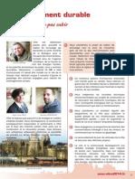 Développement Durable - Projet Osez l'avenir à Vitré avec Hervé UTARD