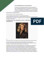 Controversia sobre la matemática como ciencia