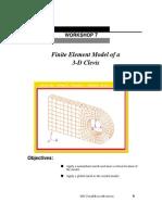 Lesson07 FEM 3D Clevis