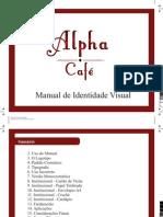 Alpha Café - Manual de Identidade
